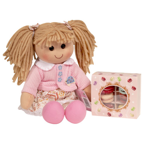 Macarons e bambola Hello Dolly
